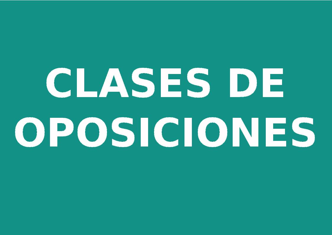 Clases_de_oposiciones